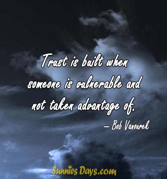 Quote, BestofQuotes, TrustQuotes, BobVanourek, BestSaying, Trust