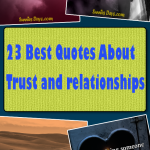 23 Best Quotes About Trust and relationships #quote #bestof #trust #relationship #love