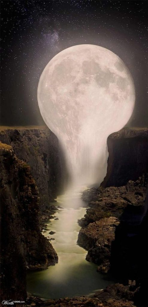 """""""I always look up at the moon and see it as the single most romantic place within the cosmos."""" —Tom Hanks"""