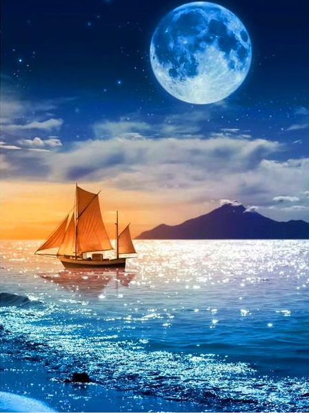 """""""The sun loves the moon so much that he dies every night to let her breathe, and in return, she reflects his love."""" ―Jeffrey Fry"""