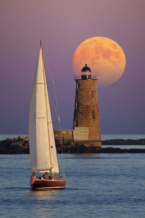 """""""Don't worry if you're making waves just by being yourself. The moon does it all the time."""" —Scott Stabile"""
