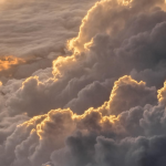 Sky! Clouds! Sunset! Mother nature beauty! #sunset #airplane #clouds #sky #nature #gorgeous #background