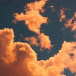 Picture of clouds taked by sunset! #sunset #orange #clouds #photography #wallpaper