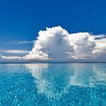 calm, ocean, blue, shiny, clear, sea, deep, breathtaking, dreamy, smartphonewallpaper, Iphone, Samsung, HDwallpaper