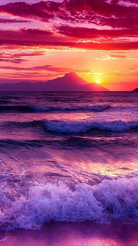 beach, gorgeous, amazingview, sunset, Dolphin, smartphonewallpaper, calm, wave, sea, Iphone, Samsung, HDwallpaper