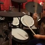 little, kid, boy, drum, drumsticks, music, rock, metal, performance, amazing, talented, drumming, impressive, inbelievable,