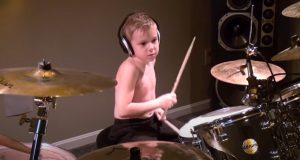 talent, gift, kid, drum, drummer, song, rock, performance, youtube, views, internet, little, amazing, impressive, professional,