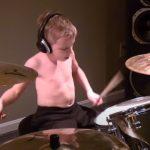 talent, gift, kid, drum, drummer, song, rock, performance, youtube, views, internet, little, amazing, impressive, professional,