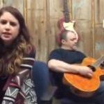 cover, Jolene, song, guitar, father, daughter, Alexandra kay, talent,