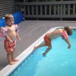 Swim, Pool, Kids, Mother, Hilarious, LOL,