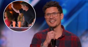 talent, America's Got Talent, Simon, voice, song, reaction, cover, impressive,