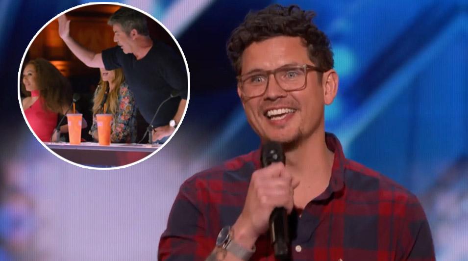 talent, America's Got Talent, Simon, voice, song, reaction, cover, impressive,