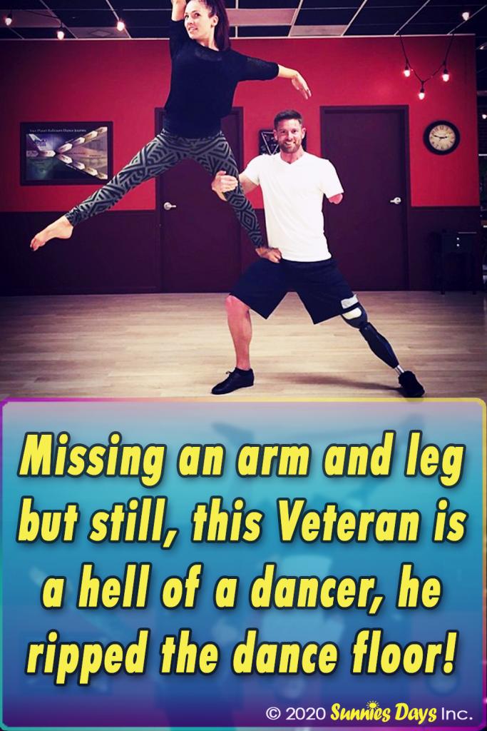 Dance, Veteran, Respect, Challenge, Incredible,